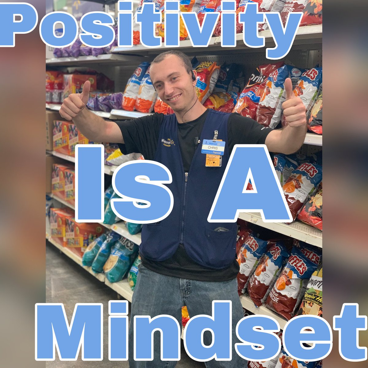 Did you know that you can empower people through positivity? Chris, one of our CAP 2 Leads, tells us that even if we aren't exactly where we need to be we are making positive impacts and that matters to morale! Thank you for being a voice of positivity for our associates!