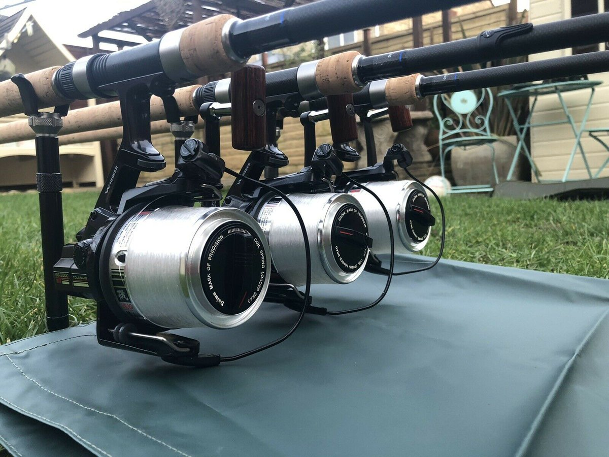 Ad - 3 x Daiwa Tournament SS3000 Carp Fishing Reels On eBay here -->> https://t.co/QnGHgMVfeG