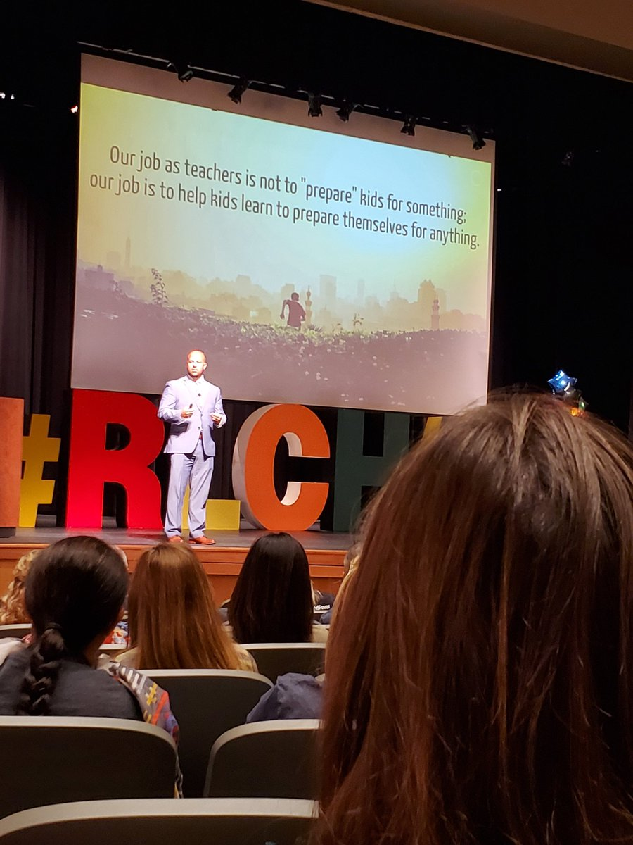 test Twitter Media - What an empowering message this morning!! My teacher heart is fired up!! #rlchat #RCISDJOY #cherrybrave https://t.co/v6Sc0FTW9A