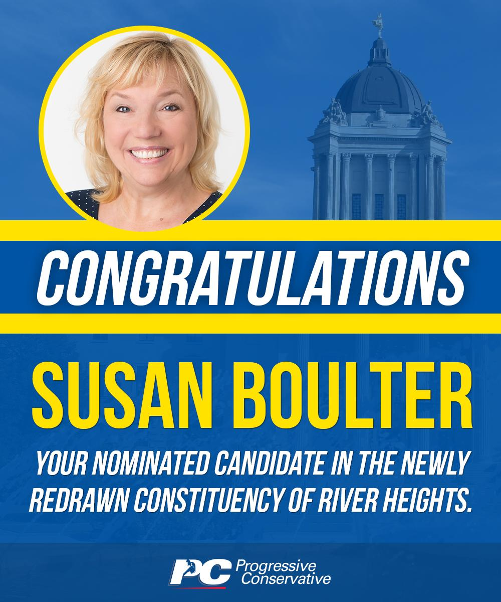 test Twitter Media - Susan has more than 35 years' experience in the public service, and has extensive volunteer experience on a wide variety of boards. Congratulations, Susan!  https://t.co/U2AwR35uZJ  #mbpoli #BetterMB https://t.co/nDZuc4EI3R