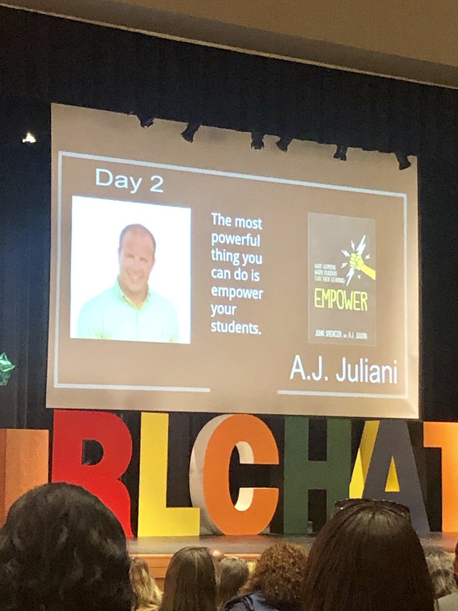 test Twitter Media - I laughed, I cried - this was one of the best keynotes I've ever been to! Excited to get back to school to #empower my learners with #choice @ajjuliani #rlchat https://t.co/Jt0cPU5sHj