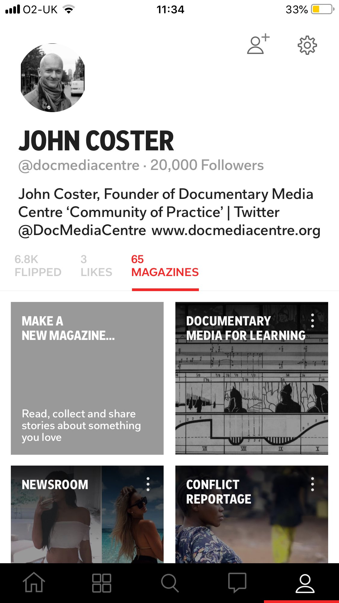 Rather chuffed to reach 20,000 followers on @Flipboard 😊 thanks to @tinawotbox for introducing me to it.... all those years ago .... still a great platform! #DocMedia2019 https://t.co/HvxfLEcnVE