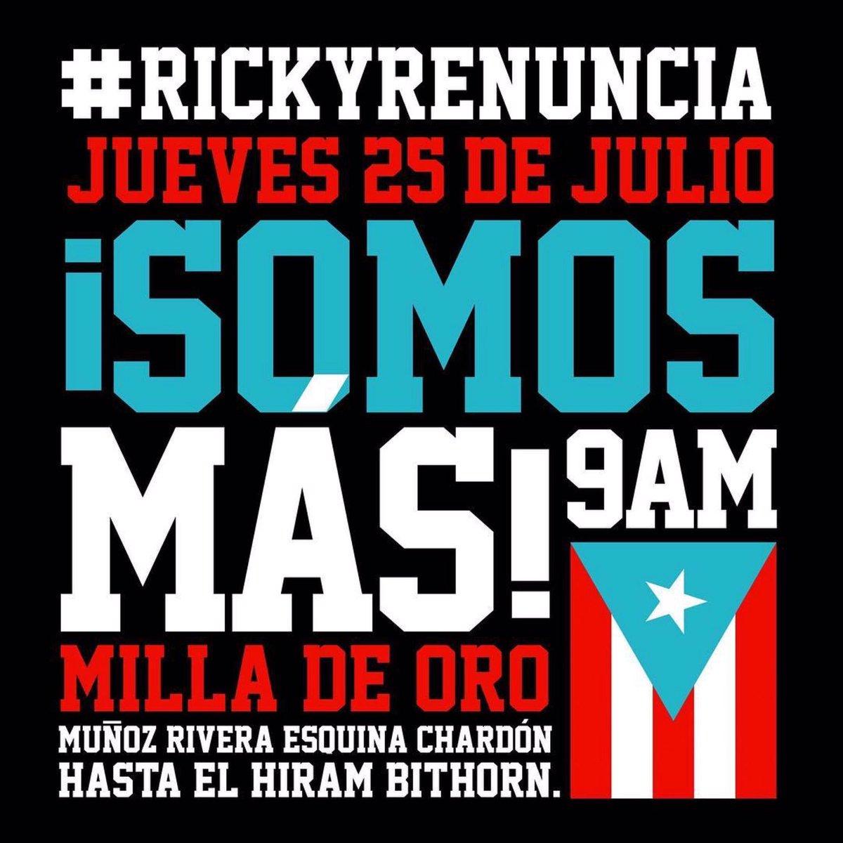 Puerto Rico. No te dejes engañar. Seguimos unidos. https://t.co/fODjHr3es9