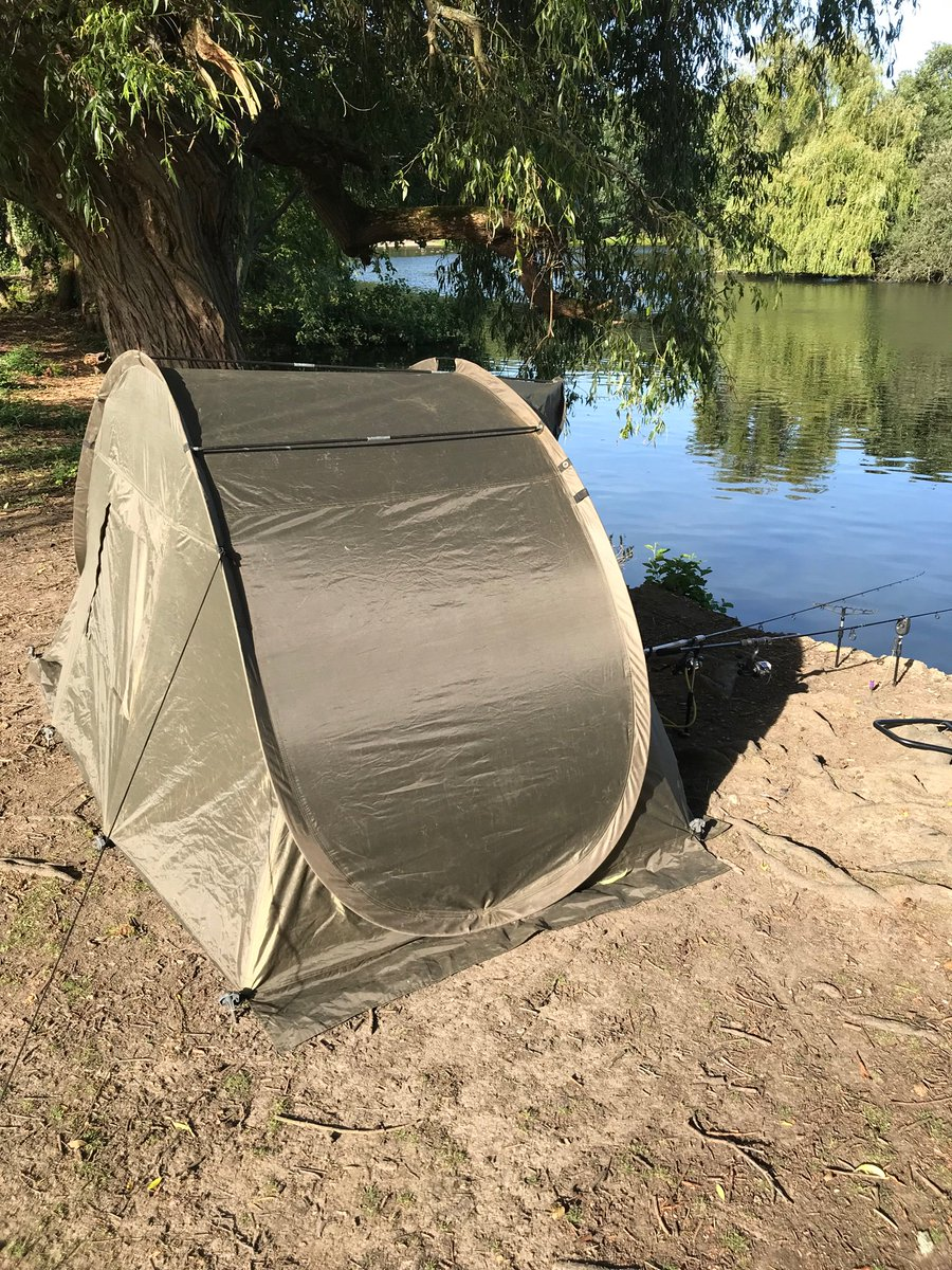 5.51 p.m - still no <b>Bite</b>s. I've accidentally created a mystic Indian sweat lodge #fishing #