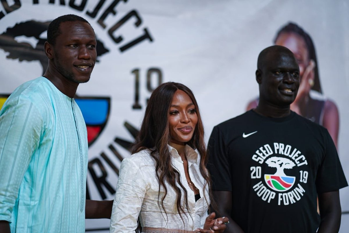 RT @NBA_Africa: .@seedproject Hoop Forum 2019 Day 1 with @GorguiDieng, @NaomiCampbell and @amadougallofall ???????????? https://t.co/f3JPGIPqu3