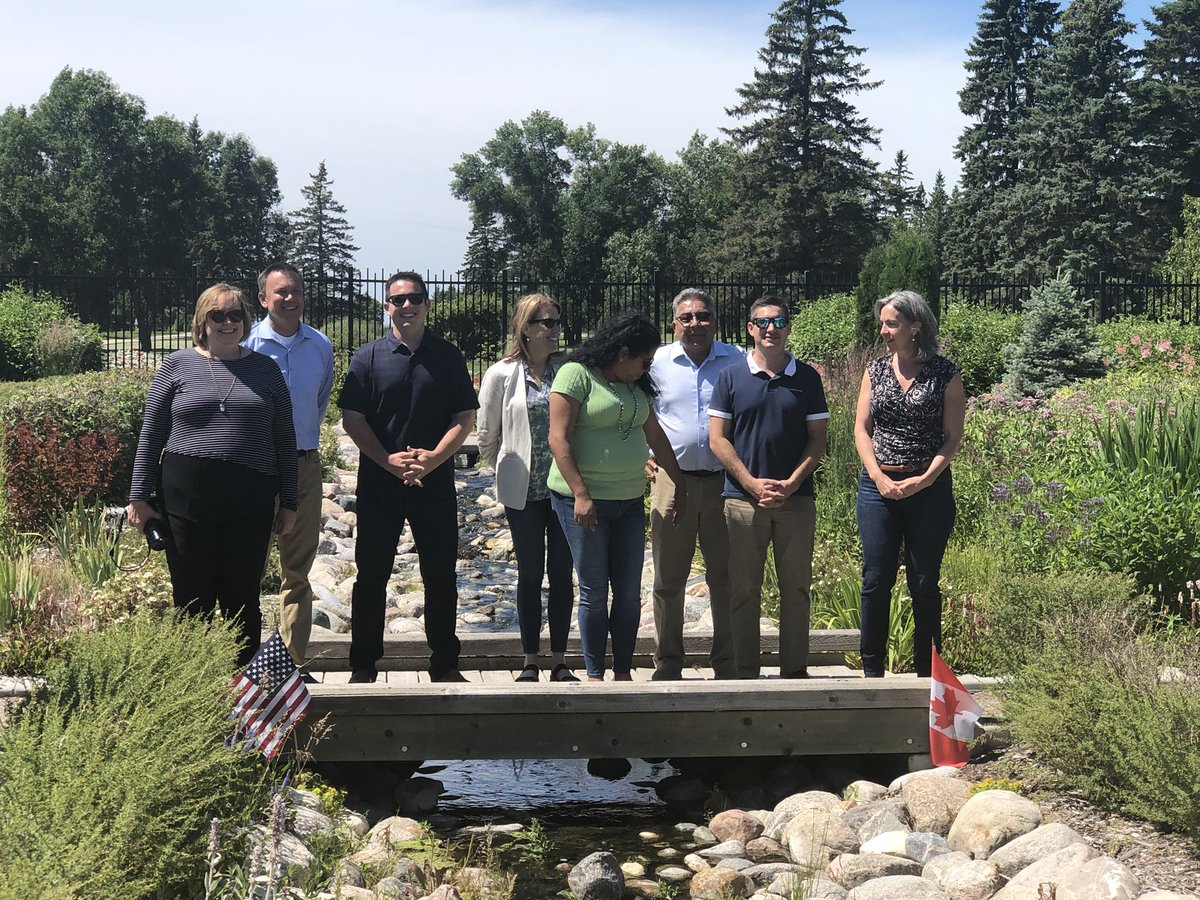 test Twitter Media - I was so honoured to participate in a tour with The United States Association of Former Members of Congress of our Westman Region, including Boissevain, International Peace Gardens and Larry Maguire's MP office. @LarryMaguireMP @EBjorn999 @dorothydobbie @usafmc https://t.co/a04JPA7Att