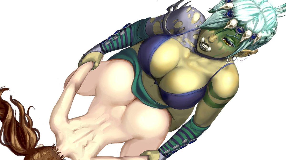 Urka blasting Hiro's ass, as she do #TalesOfAndrogyny #ToA