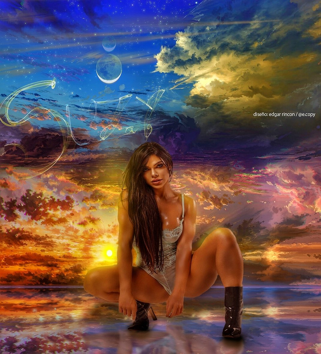 RT @e_copy: La naturaleza siempre lleva los colores del espiritu @SuzyCortez_  artwork #UFC240 https://t.co/4A3hsgDkF4