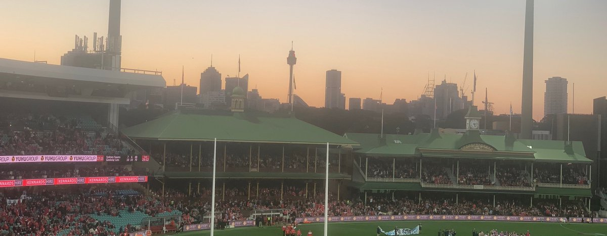 RT @CGeee: Another view of a Sydney sunset, SCG style. https://t.co/K8JmRe7hY9