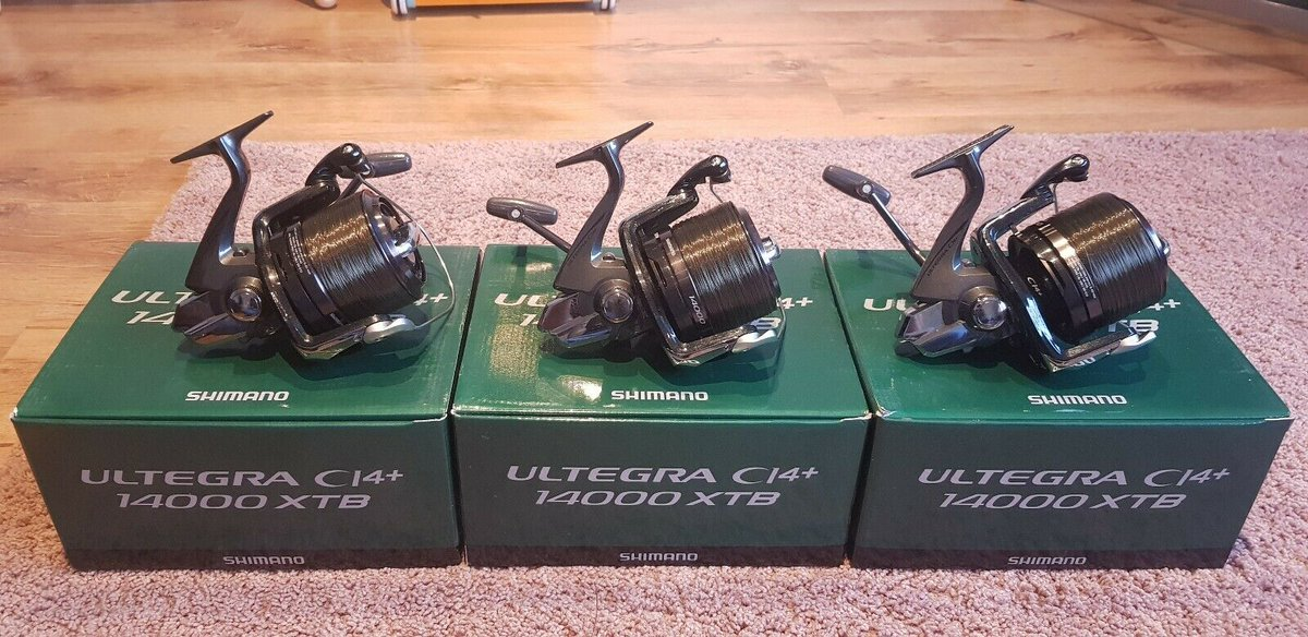 Ad - 3x Shimano Ultegra CI4 14000 XTB Big Pit Carp Reels On eBay here -->> https://t.co/uHELsr