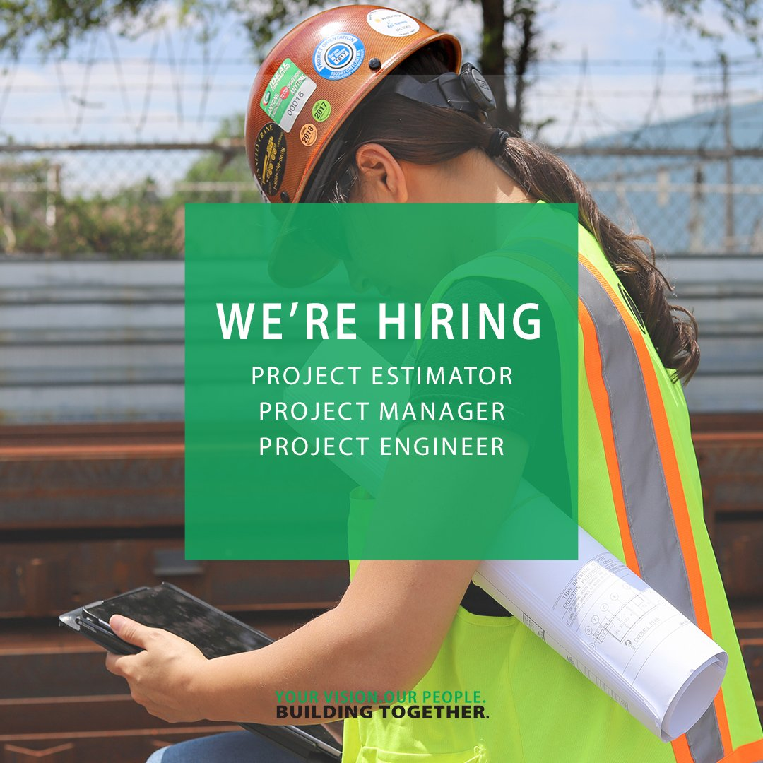 test Twitter Media - Want to join our team? We're currently seeking Project Estimators, Project Managers, and Project Engineers. Click the link to learn more about our career opportunities. https://t.co/yaAEG4dWpU https://t.co/G7GaQ0shJG