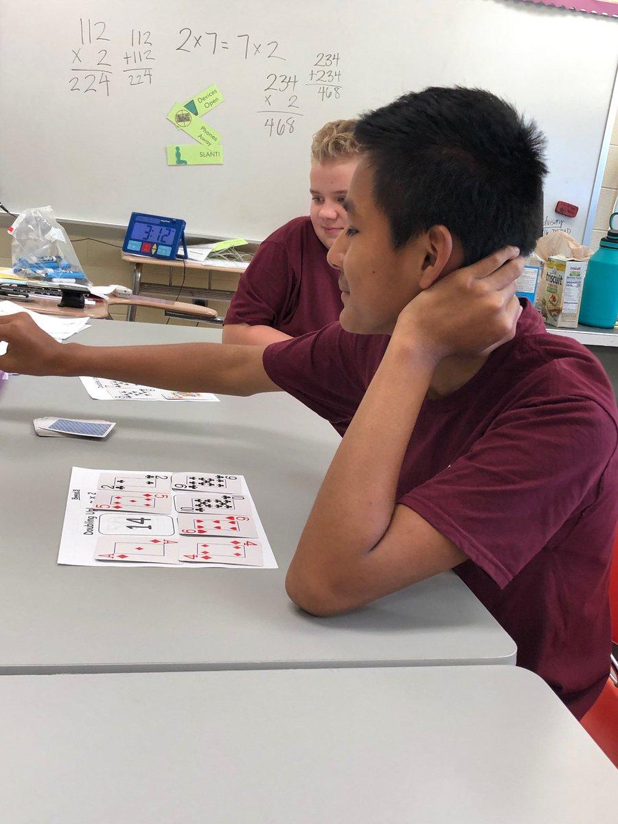 Multiplication Month in Math RTI at 2509 #DoubleorNothing #FactFluency #FultonFamily https://t.co/tkS9RgVb7f