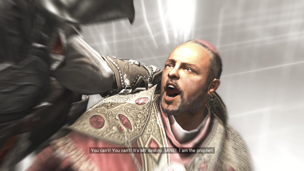 Now I think he's really done. Bye bye. #AssassinsCreed2. https://t.co/MMxVrAXifV