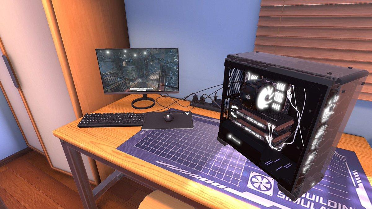 test ツイッターメディア - これからPCゲームを始めようという方にはうってつけ。自作PCシミュレーター『PC Building Simulator』がコンソールでもリリース https://t.co/E4yM1egPx2 https://t.co/dIfQVQBB5S