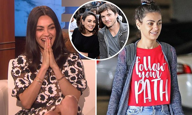 Happy birthday to the woman we\d love to hang out, down the street with, Mila Kunis!