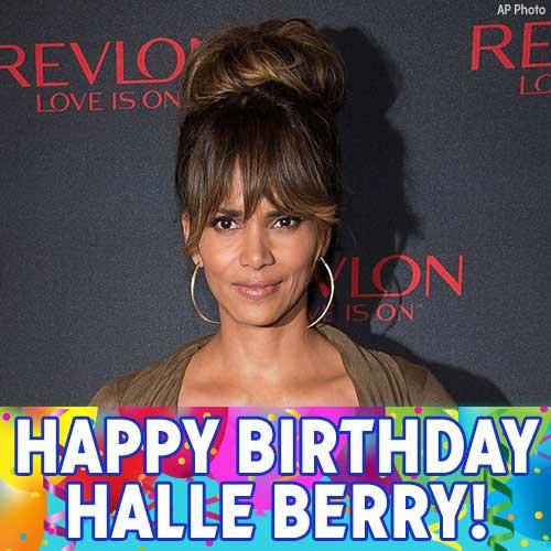 Happy Birthday to Oscar-winning actress Halle Berry!