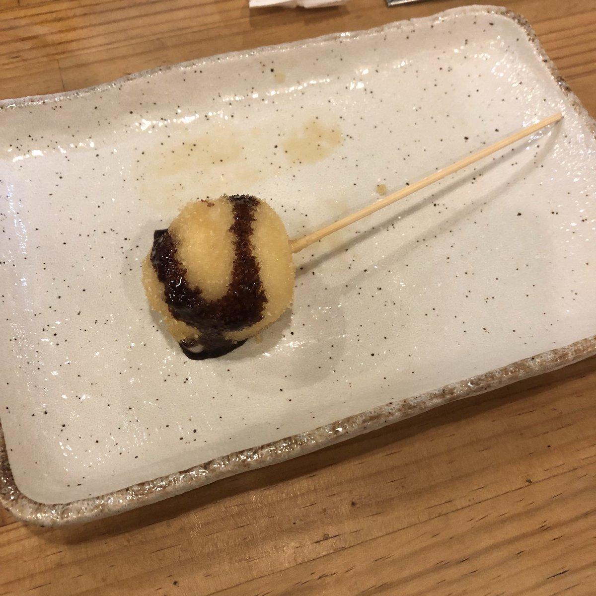 test ツイッターメディア - 昨日はまゆことご飯! お寿司とか串カツとかいろいろ食べて食べて食べまくり 雪見だいふく串オススメ。 ばり楽しかった https://t.co/jhBKAnqaiR