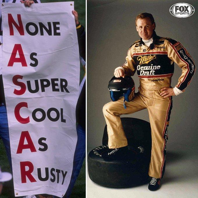 Happy Birthday, Rusty Wallace.