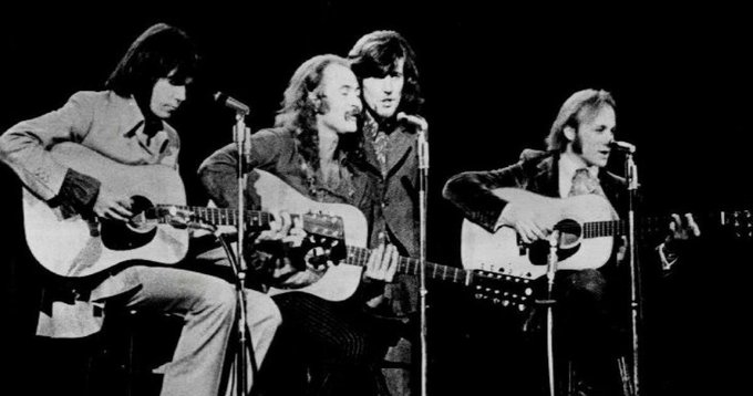 Happy Birthday David Crosby: CSNY At Woodstock In 1969