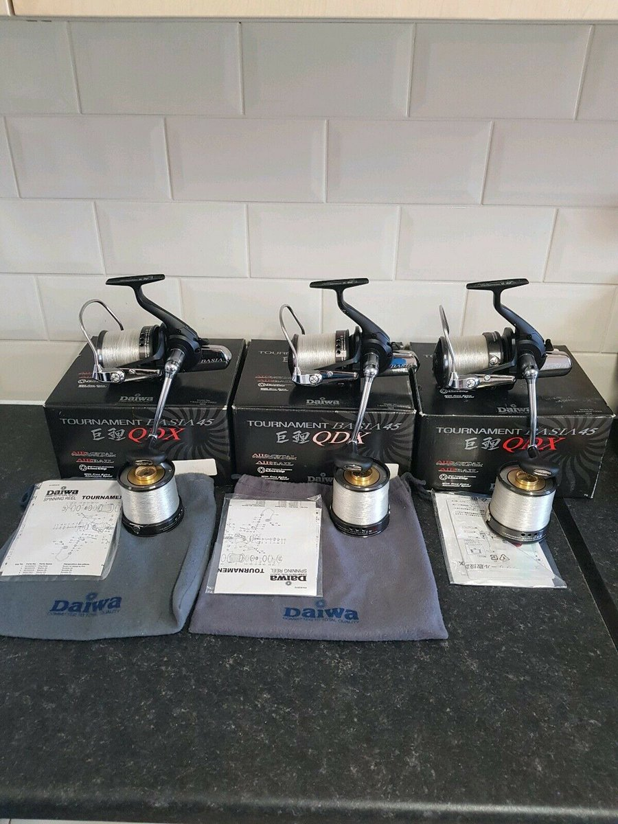Ad - Daiwa Tournament Basia 45 QDX On eBay here -->> https://t.co/djXfjVTIFf  #carpfishing htt