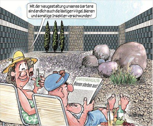 Garten(un)kultur (Cartoon Ritter-Karikaturen) https://t.co/Ua0ihKzYqw