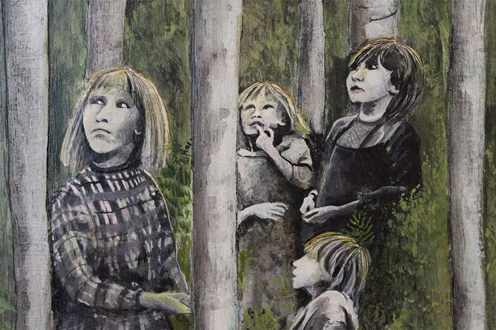 Image for Gallery and café open today 11am - 5pm. Come along and see our brand new exhibition 'Parallel Lives'. #art #exhibition #Sunday #RealMidWales #whatson #Powys https://t.co/eHqct2W2pa
