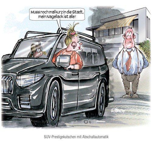 Heute fährt man nicht mehr mit dem Auto Zigaretten holen (Cartoon Ritter-Karikaturen) https://t.co/GJBA4HhIpF