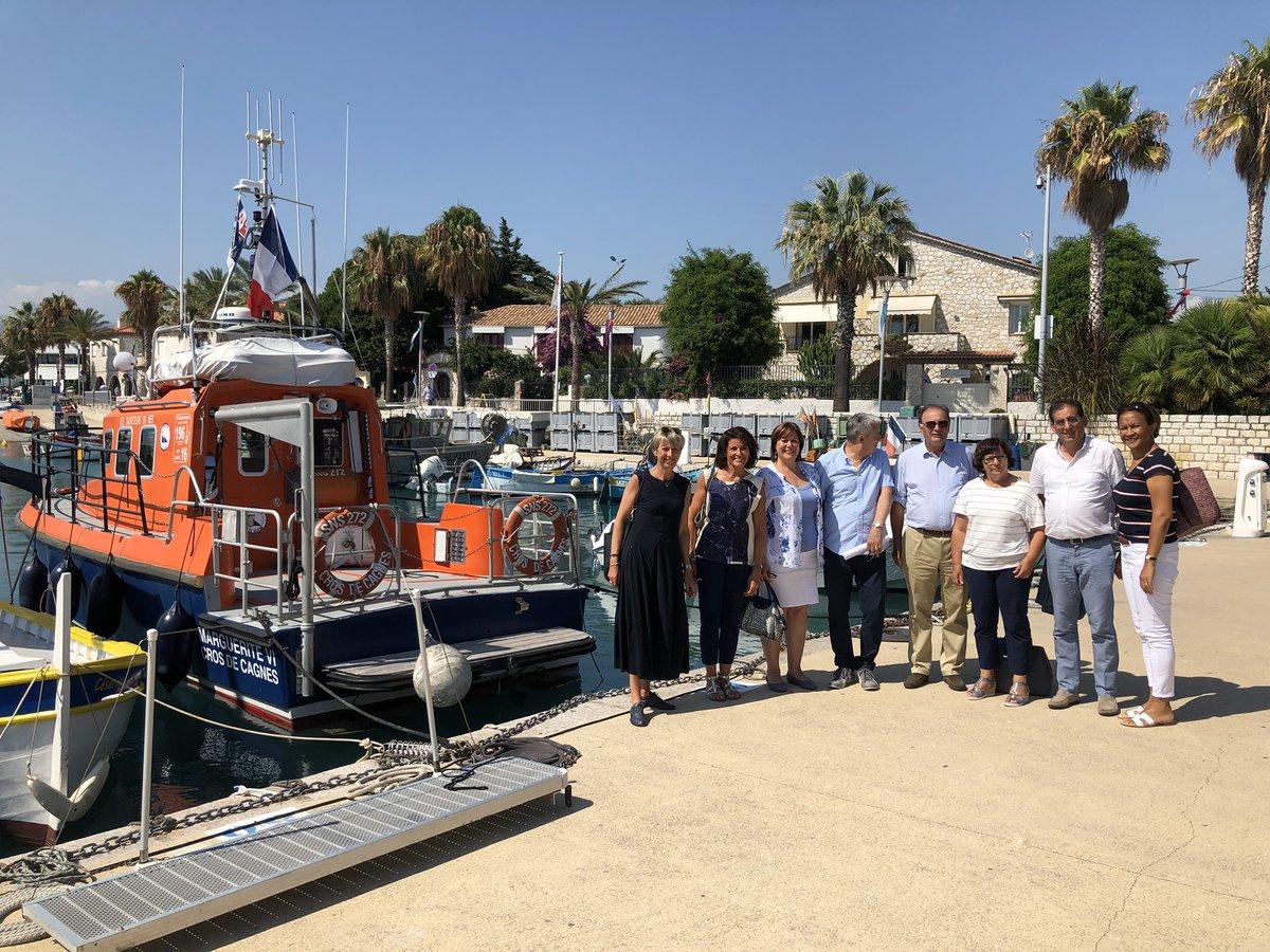 Poursuite de la mission sénatoriale sur le sauvetage en mer à Cagnes @SauveteursenMer @MilleSNSM