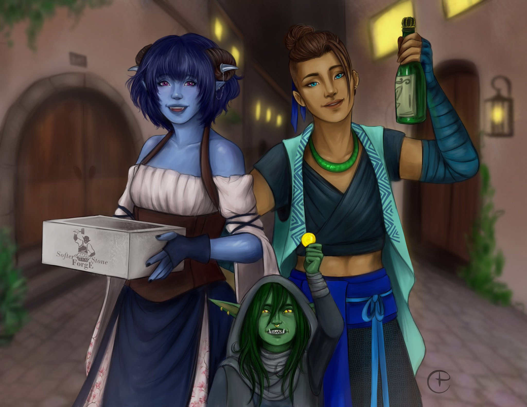 Jester: We brought cupcakes! Nott: and money Beau: and booze! Ep: 73 (about 3hrs 48min in) i think this interaction says a lot about everyone's priorities #CriticalRole #criticalrolefanart https://t.co/9GRjkUOsFT