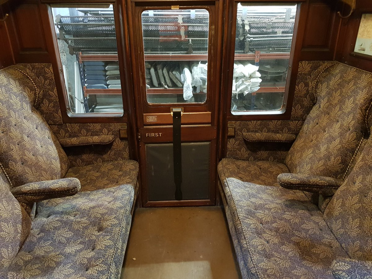 test Twitter Media - RT @bonessrailway: Here's what 1st class looks like inside our #Caledonian Railway carriages. #SummerSteamUp ^JS https://t.co/Mhct7uNWj5