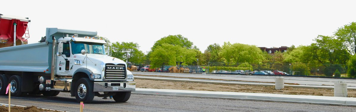 test Twitter Media - It's a smooth finish as crews work to complete the blacktopping and cement work at Maple School! #d30learns https://t.co/tV78Bwzfhv