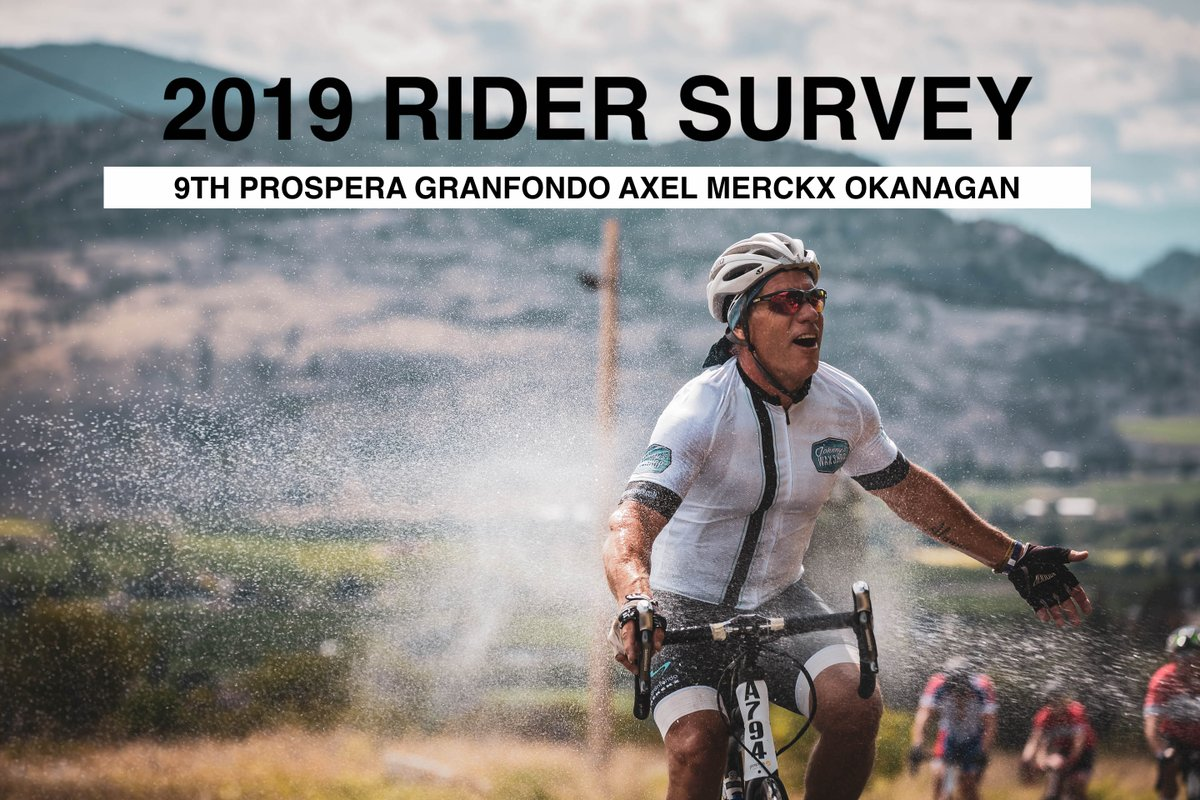 test Twitter Media - Today is the last day to complete the 2019 @axelsgranfondo Rider Survey. If you rode last month's event, you would have received an e-mail with a link to the survey last week. Plus everyone who completes the survey will be entered to win some great prizes. #RideHardSmileOften https://t.co/seML9sKyTT