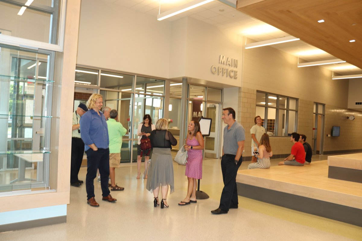 test Twitter Media - Board of Ed. & former members had a wonderful tour of the new Maple School on 8/8, prior to a business meeting, which was held for the first time at Maple. Dr. Wegley expressed how excited admin. & staff are to welcome our teachers and students back on September 3! #d30learns https://t.co/dNKr7dV7Dc