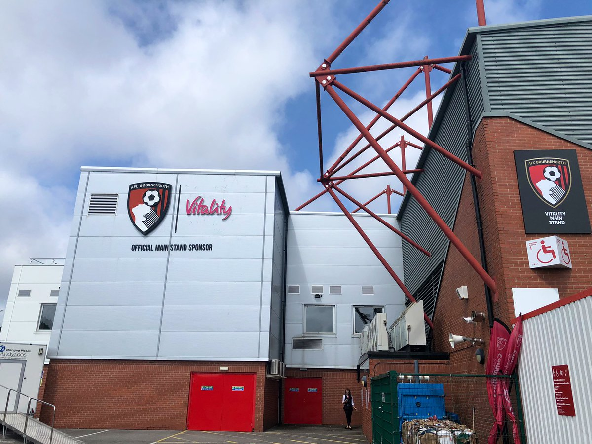 test Twitter Media - Today's office is in #Bournemouth getting ready for kick off with @afcbournemouth v @SheffieldUnited, our reporter is @johnshiresitv for @itvcalendar https://t.co/5dcr4wGmE4