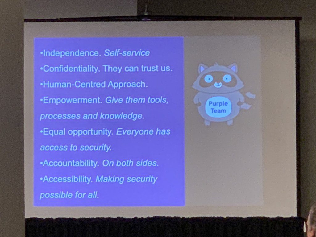 RT @patcable: @shehackspurple a good set of principles of running a 💯 security team imo https://t.co/LYApXfG3sb