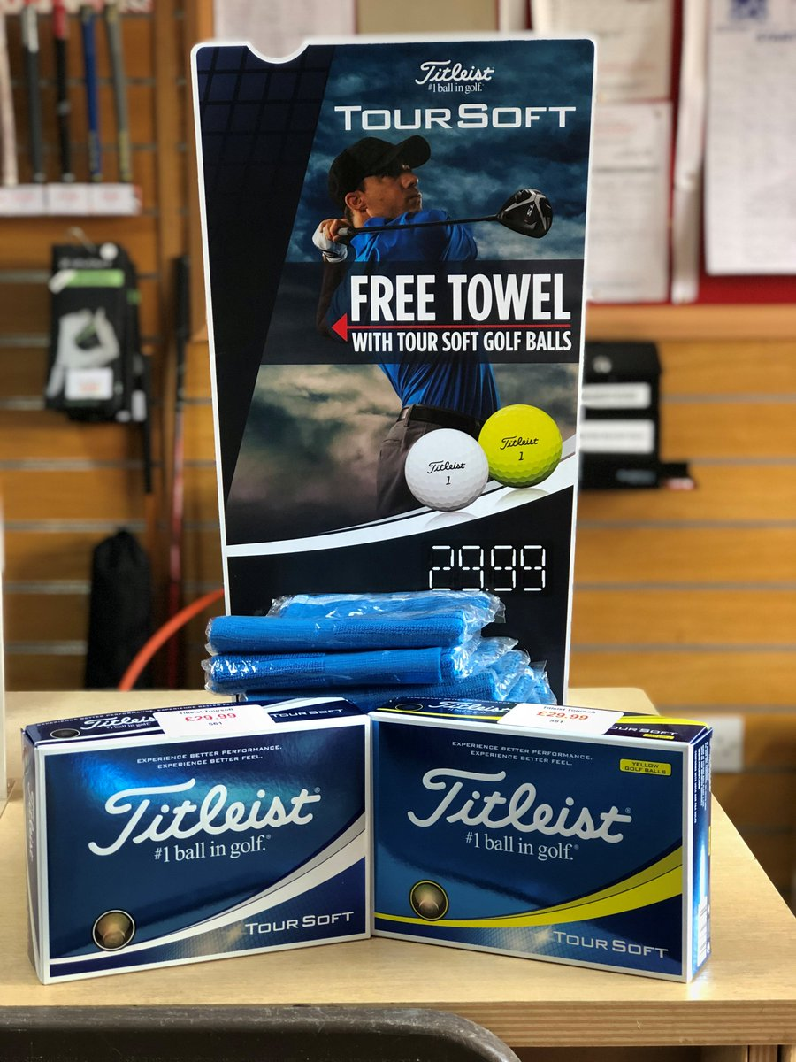 test Twitter Media - @Titleist Tour Soft #Golf Golf Balls Category Leading Feel With More Distance  Receive a FREE Titleist Tour Soft Towel worth £19.99 with this product!  Experience better performance, experience better feel with the @Titleist Tour Soft. https://t.co/D6PUCXQeZ7