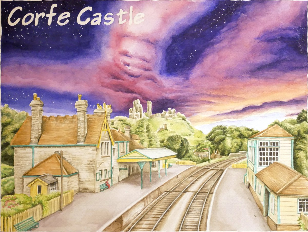 test Twitter Media - Brand new timelapse of Corfe Castle up on my YouTube channel. https://t.co/yqHT78SnJN Watch how you go from blank page to this. #timelapse #watercolour #corfecastle https://t.co/6qWhS1rqBR