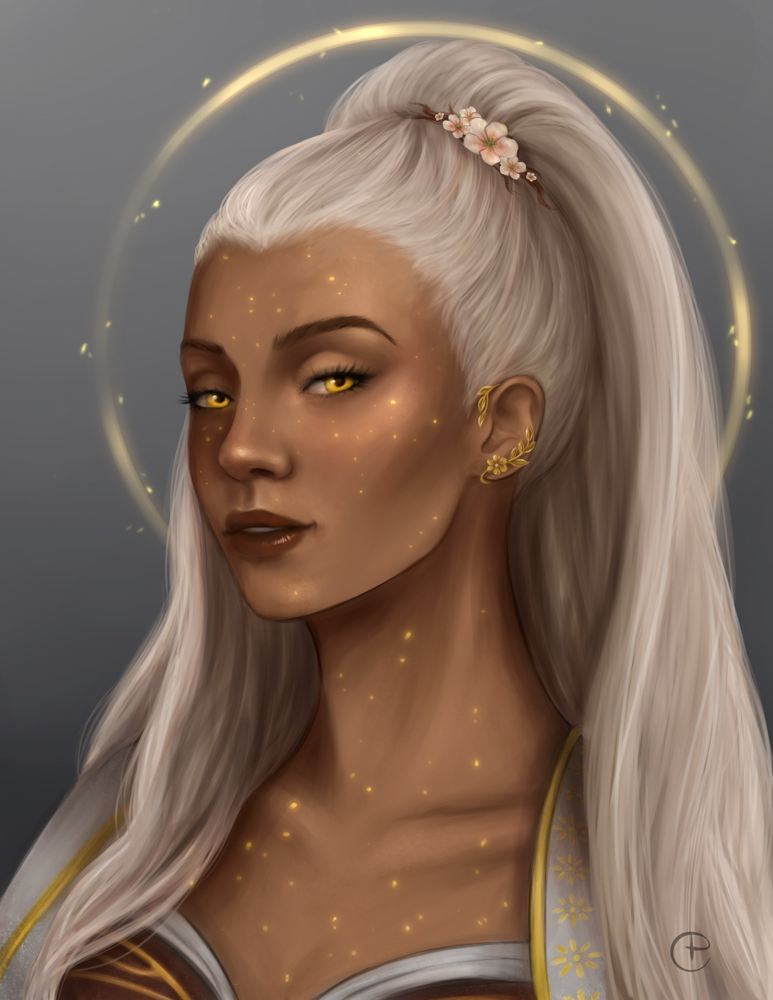 Ep 74 - Guess ill add to the pile of Reani fanart, she is just too pretty ok?! #CriticalRole #criticalrolefanart https://t.co/JvsePHSyNA