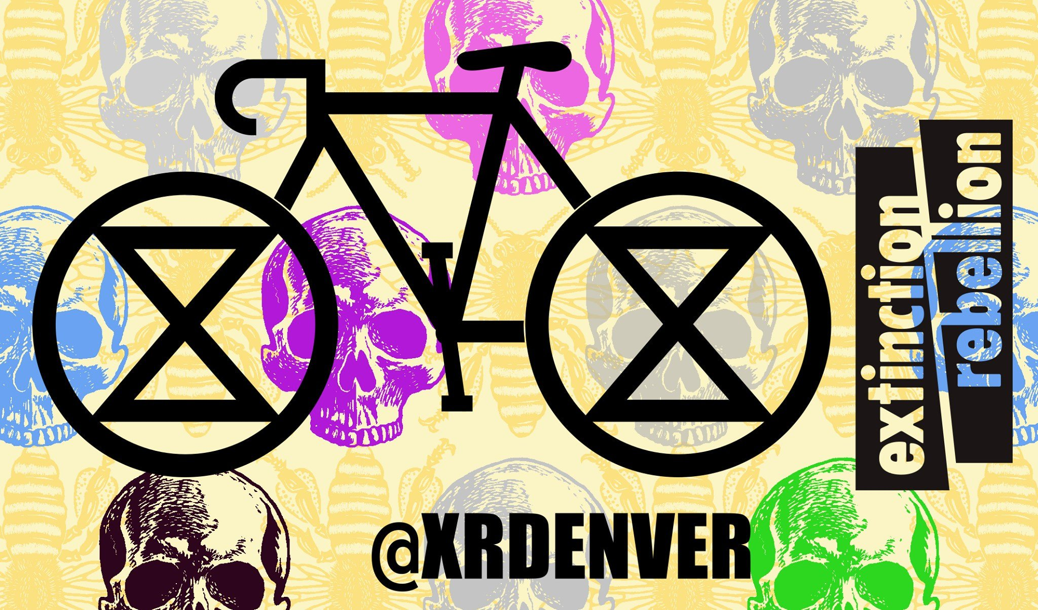 "Join #ExtinctionRebellion for a night of slow-rollin' rebellion and community-buildin' fun at our Climate #CriticalMass bike ride. When: This Friday, August 16th, 6:30 PM – 8 PM Where: Denver Skate Park ""DPark"" 2205 19th St, Denver, Colorado 80202 https://t.co/BORHdDAlsQ"