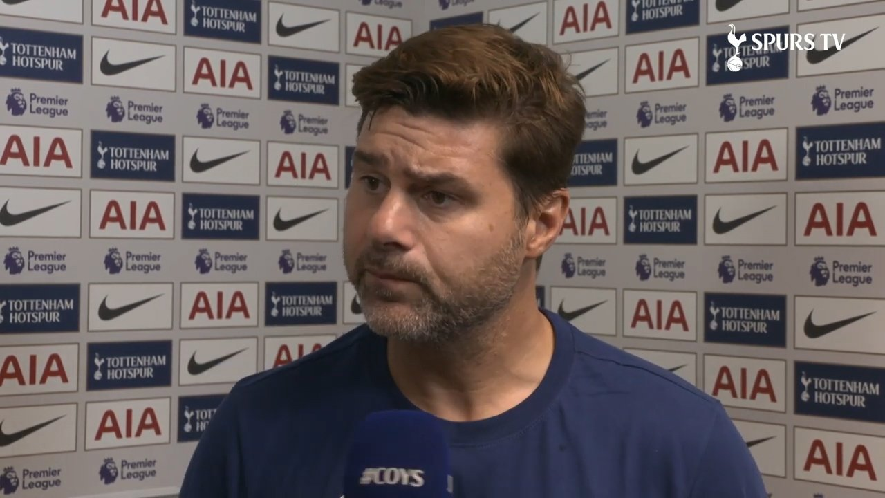 Mauricio gives his verdict on today's game.  #PL ⚪️ #COYS https://t.co/s3zr9Jvhle