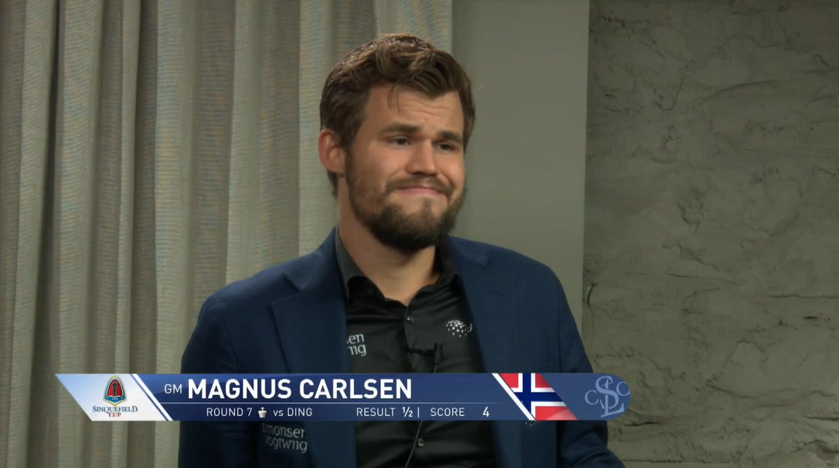 "test Twitter Media - Magnus Carlsen: ""Your opponent's got to make mistakes! ... I had a ferocious attack and he had to defend by the skin of his teeth""  https://t.co/kDCBZ2Pxqs #c24live #GrandChessTour #SinquefieldCup https://t.co/eFwpBpL4Ef"