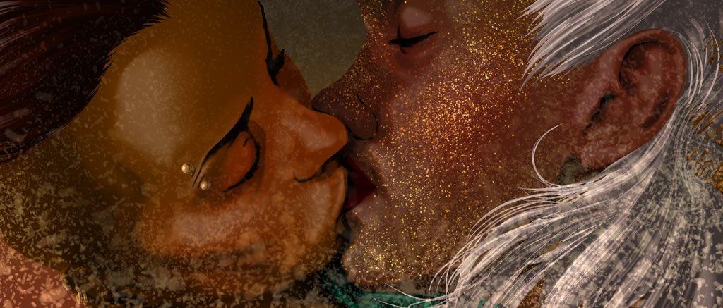May be #Beauregard isn't such a disaster lesbian after all...  #Reani #CriticalRole #CriticalRoleFanArt https://t.co/Z2b1lef5cK