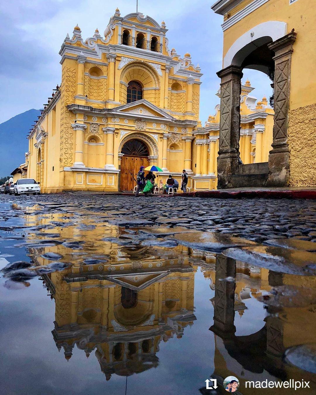 Nuestra Iglesia de San Pedro.  Foto 📸 Zach  #AntiguaGuatemala #Guatemala #Travel #Fotografía https://t.co/1VzsKScBY0