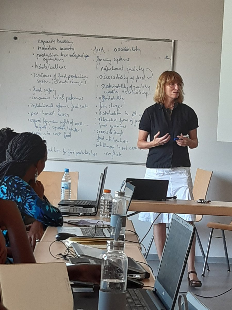 test Twitter Media - RT @JulieDReeves: ITT Summer school discussing the complexities of food security with Sabine Schluter @GCRF_BRECcIA https://t.co/7fnyDYHRGj