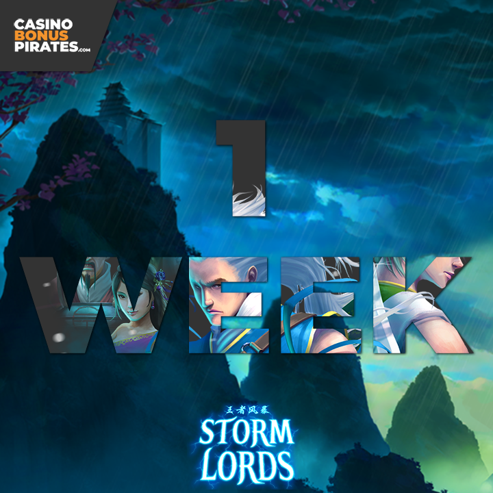 #RTGSlots are releasing a brand new #slot #StormLords next week, we've had a chance to play it early! Read our #review:  🌩️#casino #games #slots #bitcoincasino