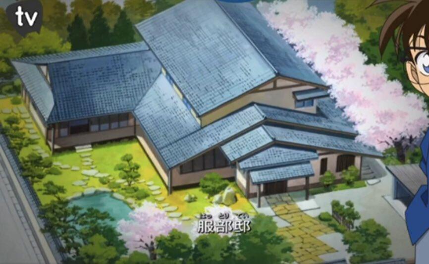 test ツイッターメディア - ごめんなさい。見たことあるけど平次と和葉ちゃんの映画はやっぱ見返さなな!って見始めてんけどさ、、服部平次の家でかない???やばない??ホンマに大阪住んでんの??桜咲いてるねんけどwwww池もあるしwwwなんなんwwwwwww https://t.co/nGy2AFSRo6