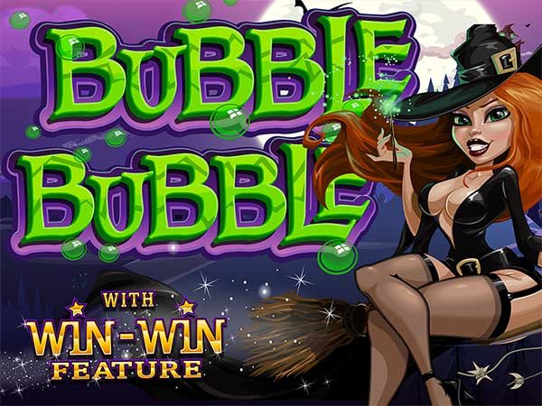 Brew up magical wins with the #BubbleBubble #slot  🧙♀️🔮 #casino #reviews #slots