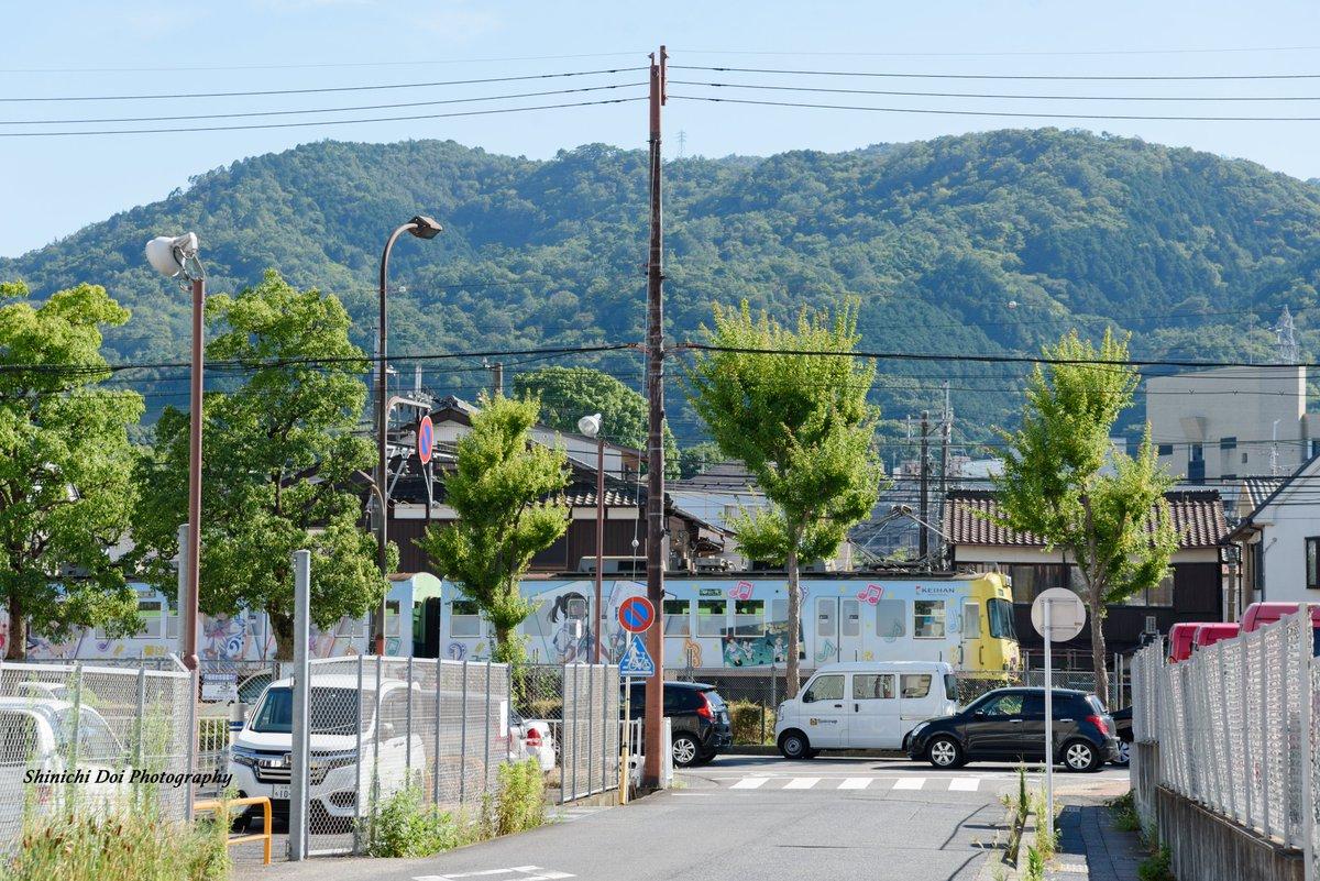 test ツイッターメディア - 京阪電車×響け!ユーフォニアム  大津の夏を駆け走るラッピング電車。 12月まで駆け抜けて欲しいなあ〜  #photograghy #京阪電車 #京阪大津線 #響けユーフォニアム  #ファインダー越しの私の世界  #写真好きな人と繋がりがたい https://t.co/D3CXQWOBn7