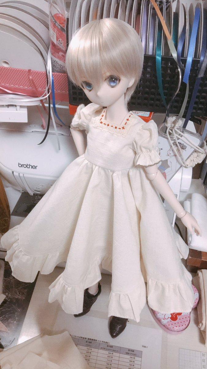 test ツイッターメディア - また女子の服かー状態の冬李くん。ddpサイズチロリアンはドールショウ販売予定。 https://t.co/3cQ8i8i6wP
