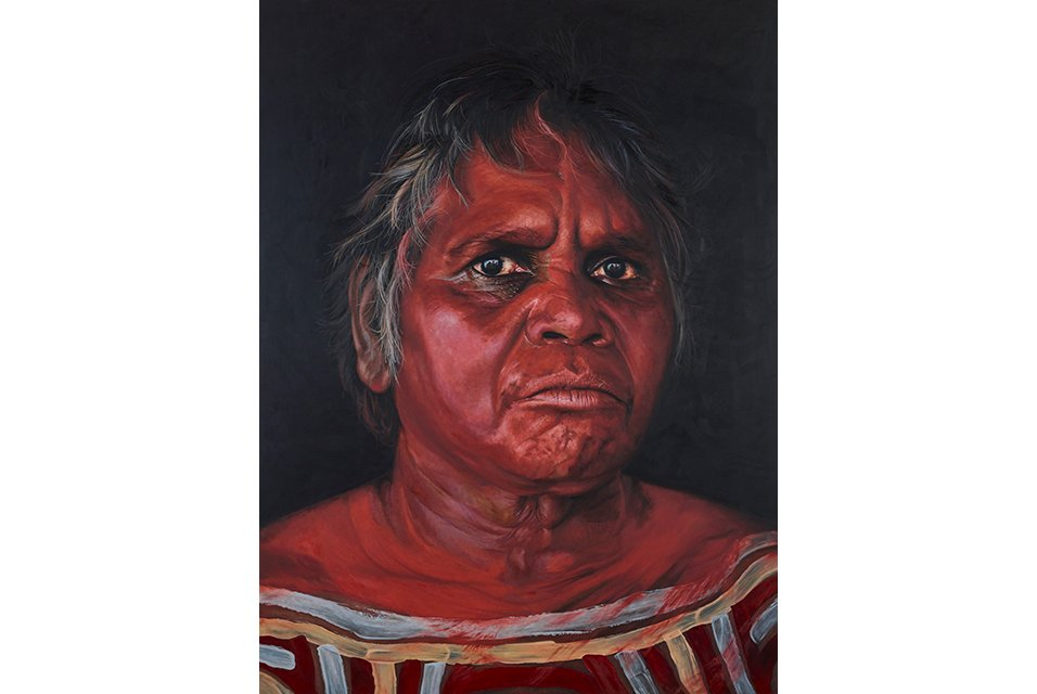 Portrait of strength wins the 2019 Archibald Prize ANZ People's Choice award https://t.co/VQaQX0JabX